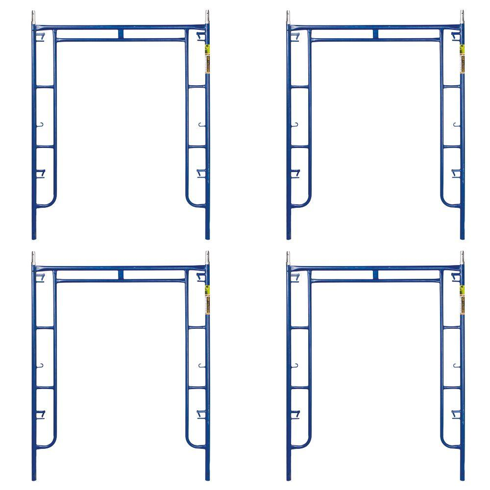 Saferstack 6.4 ft. x 5 ft. Mason Walk-Through Arch Scaffold Frame