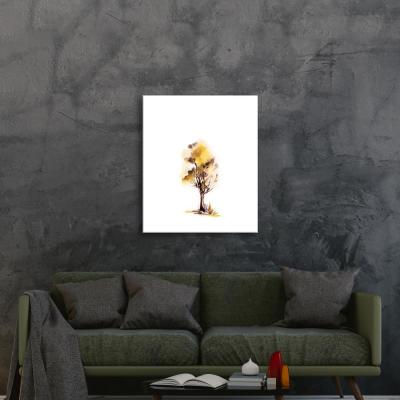 """Alone in Yellow"" by Sophia Rodionov Unframed Wall Art"