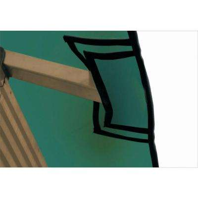 12 ft. x 12 ft. STC Seville and Santa Cruz Green Gazebo Replacement Canopy
