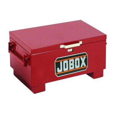 31 in. x 18 in. x 15-1/2 in. Heavy-Duty Steel Portable Chest