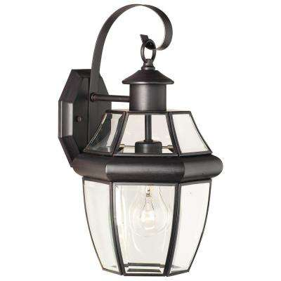 Heritage 1-Light Painted Bronze Outdoor Wall-Mount Lantern