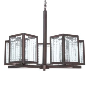 Deals on Home Decorators 5-Light Oil Rubbed Bronze Chandelier