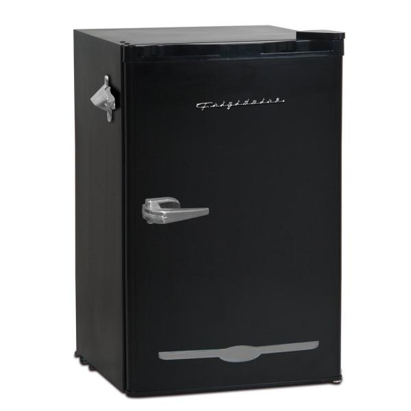 3.2 cu. ft. Retro Mini Fridge in Black