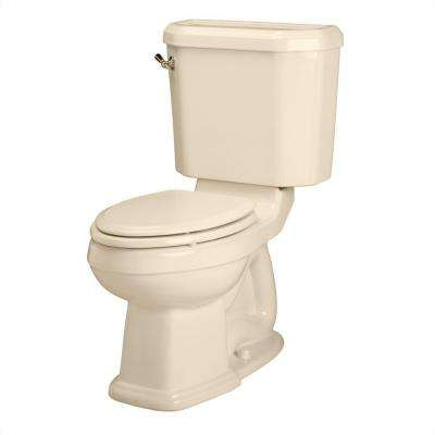 Portsmouth Champion 4 2-piece 1.6 GPF Chair Height Elongated Toilet in Bone