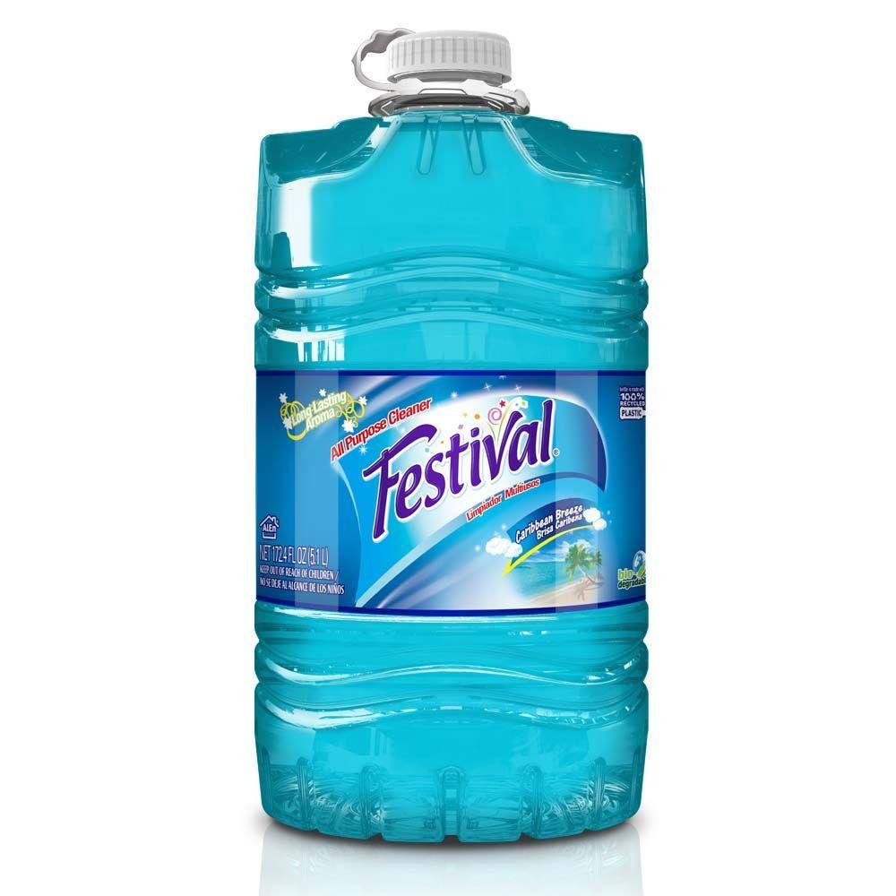 Festival Flash 172.4 fl. oz. Caribbean Breeze Multi-Purpose Cleaner