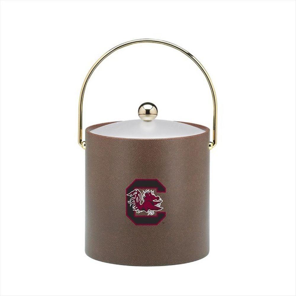 Kraftware South Carolina 3 Qt. Football Texture Ice Bucket