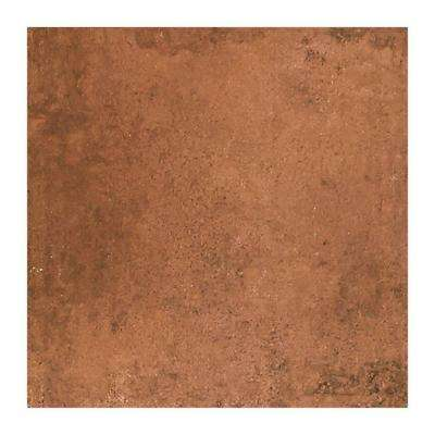 Studio Life Black Terracotta 12 in. x 12 in. Glazed Porcelain Floor and Wall Tile (14.55 sq. ft. / case)