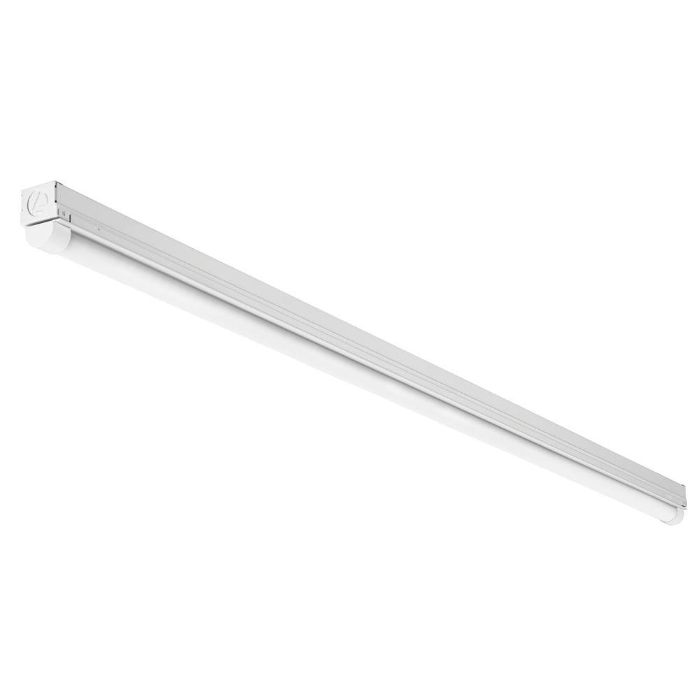 Lithonia Lighting Mnsl M6 120 Volt 4 Ft White Led Surface Mount Strip Light