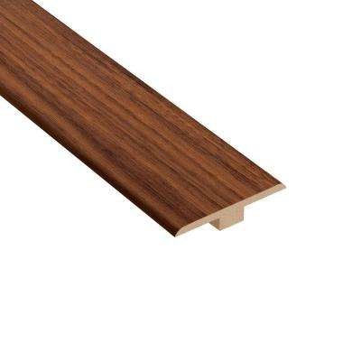 Monarch Walnut 1/4 in. Thick x 1-7/16 in. Wide x 94 in. Length Laminate T-Molding