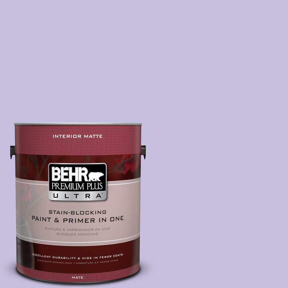 BEHR Premium Plus Ultra 1 gal. #640B-4 Innuendo Flat/Matte Interior Paint