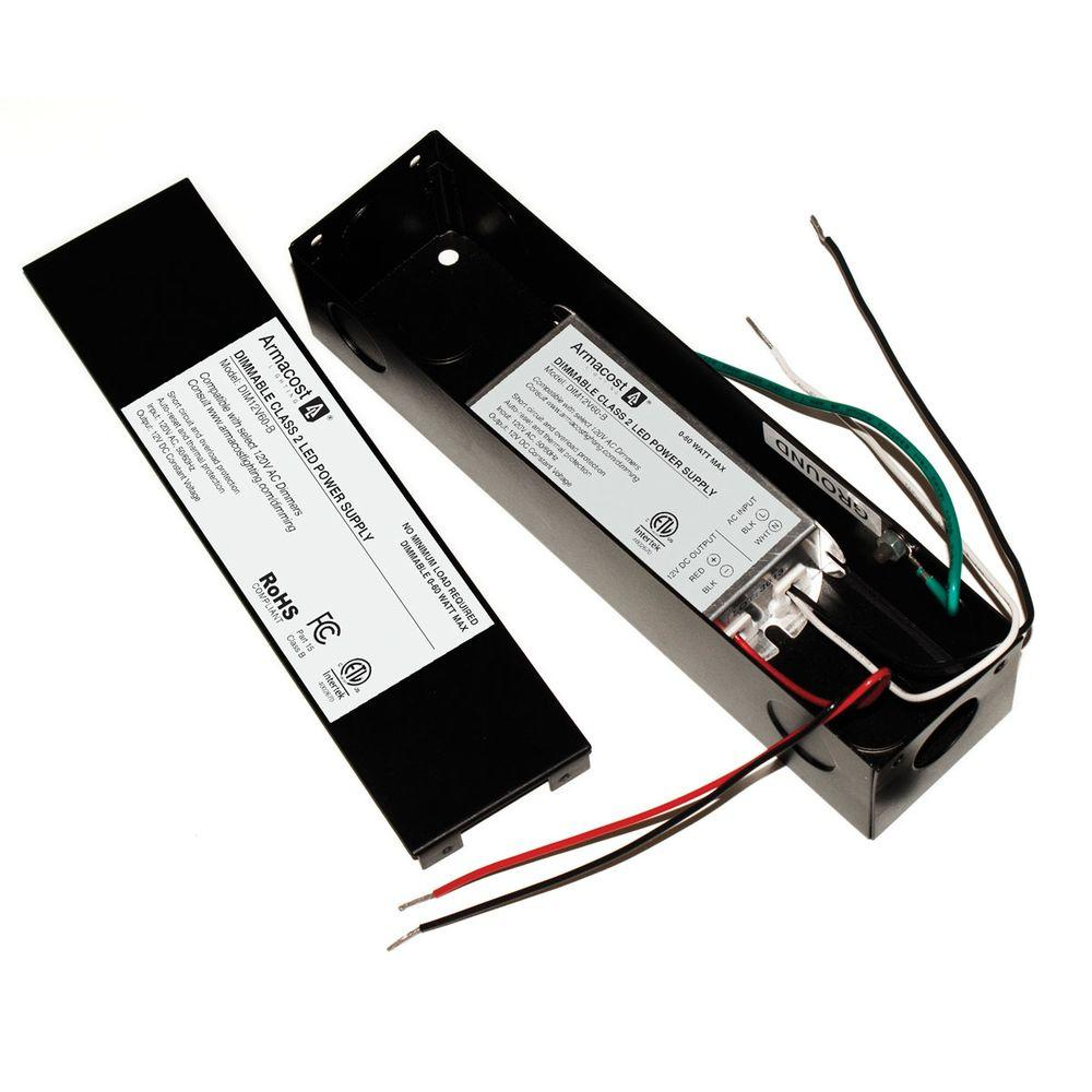 Armacost Lighting 0 to 60-Watt AC Dimmable Electronic Power Supply