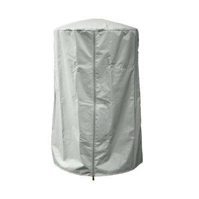 38 in. Heavy Duty Silver Portable Patio Heater Cover