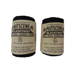 3 x 394 ft. Black 3-Ply Jute Garden Twine (2-Pack) by