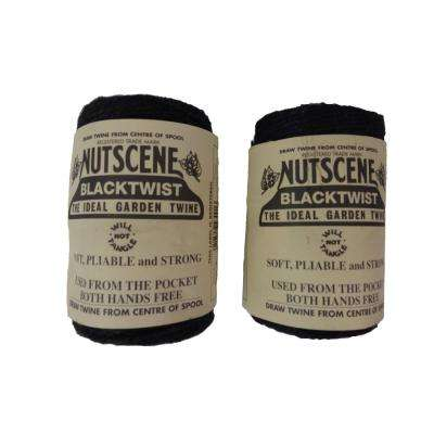 3 x 394 ft. Black 3-Ply Jute Garden Twine (2-Pack)