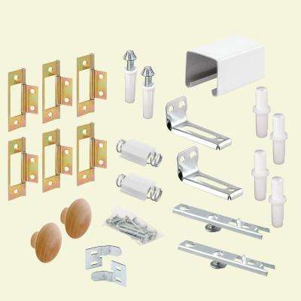 48 in. Bi-Fold Closet Door Track Kit