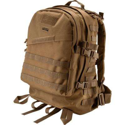 Loaded Gear GX-200 Medium Flat 22 in. Dark Earth Ballistic Nylon Tactical Backpack