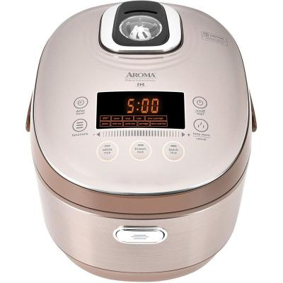 5 Qt. Champagne Electric Multi-Cooker with Ceramic Pot