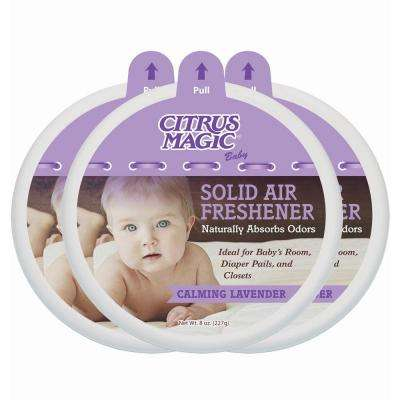 8 oz. Baby Calming Lavender Odor Absorbing Solid Air Freshener (3-Pack)