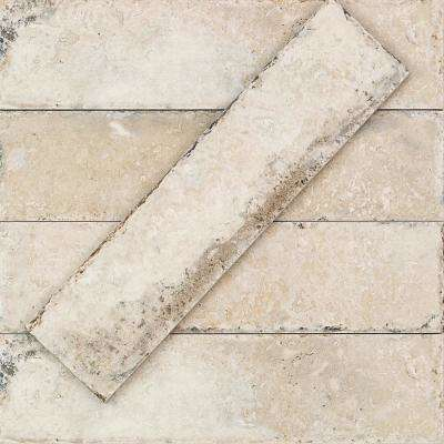 Granada Pergamo 3 in. x 12 in 9.5mm Natural Porcelain Floor and Wall Tile (46-piece 10.82 sq. ft. / box)