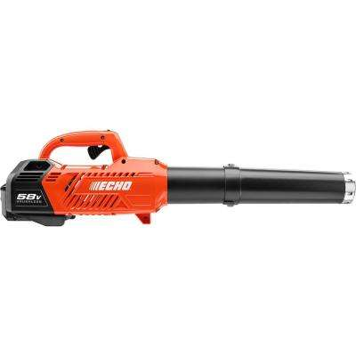 145 MPH 550 CFM Variable-Speed Turbo 58-Volt Brushless Lithium-Ion Cordless Blower - 2.0 Ah Battery and Charger Included