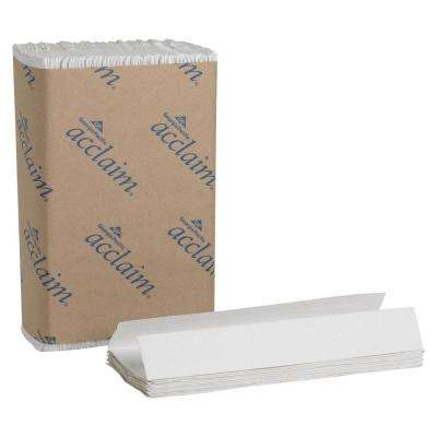 Acclaim White C-Fold Paper Towels (2400 per Carton)