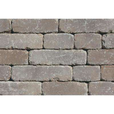 Lakeland I 8 in. L x 12 in. W x 4 in. H Santa Fe Tumbled Concrete Garden Wall Block (20-Pieces/6.5 sq.ft./pack)