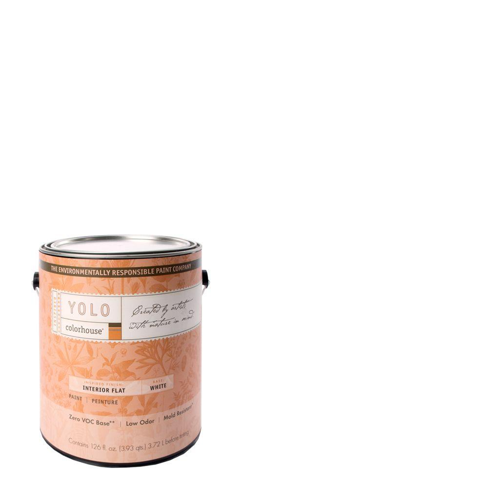YOLO Colorhouse 1-gal. Bisque .01 Flat Interior Paint-DISCONTINUED
