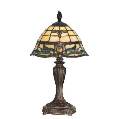 18.5 in. Pendule Fieldstone Table Lamp