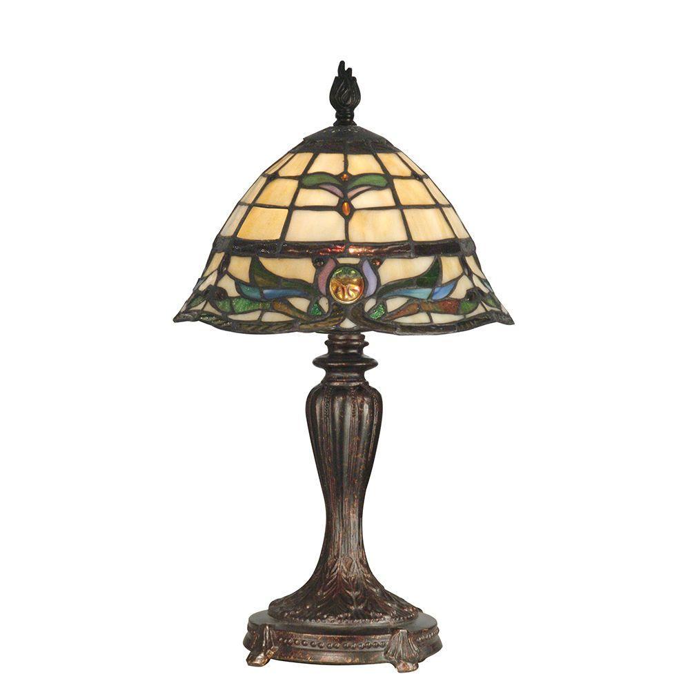 18.5 in. Pendule Fieldstone Table Lamp