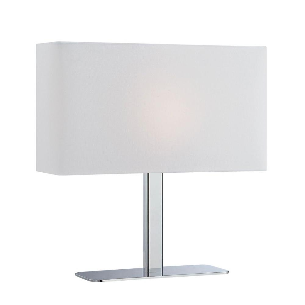 Commercial Table Lamps: Illumine 15.8 In. Blue Table Lamp-CLI-LS432456
