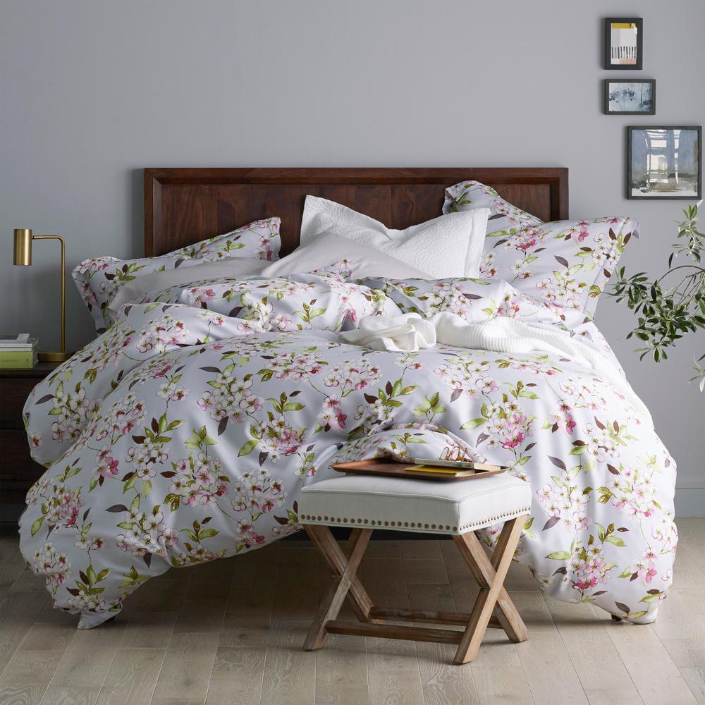 Marietta Multicolored Floral Sateen King Duvet Cover