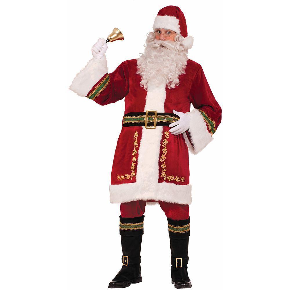 Forum novelties premium classic santa suit standard size