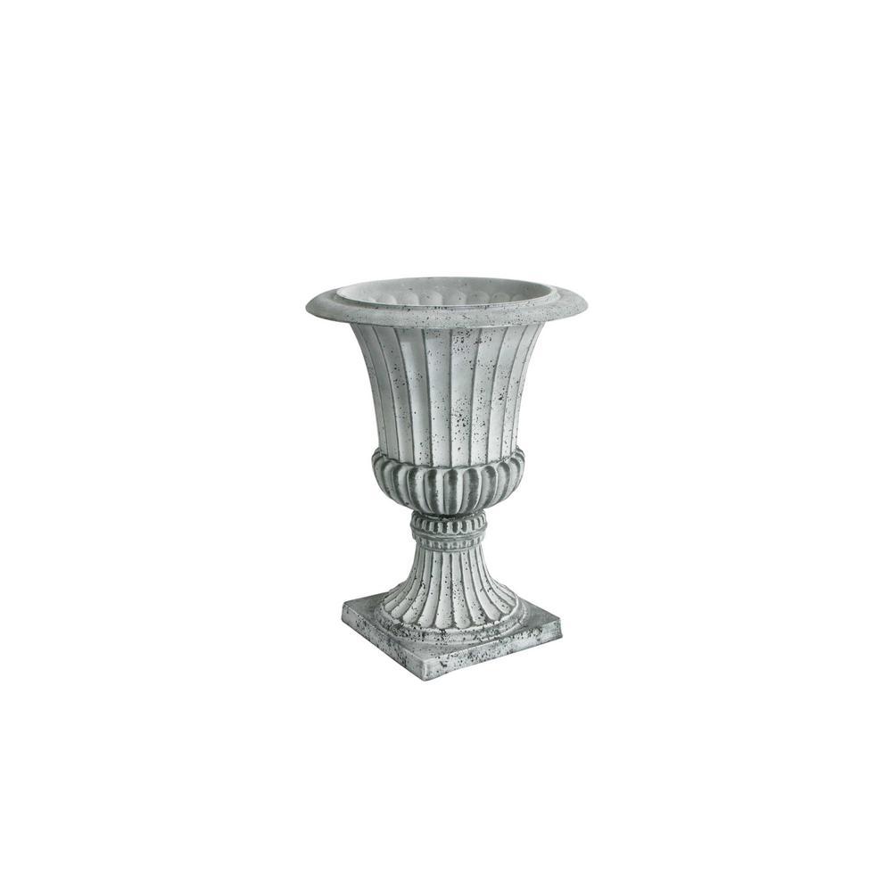 16.25 in. D x 21.25 in. H Concrete Plastic Rustic Urn