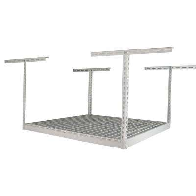 48 in. x 48 in. x 21 in. Overhead Ceiling Mount Storage Rack