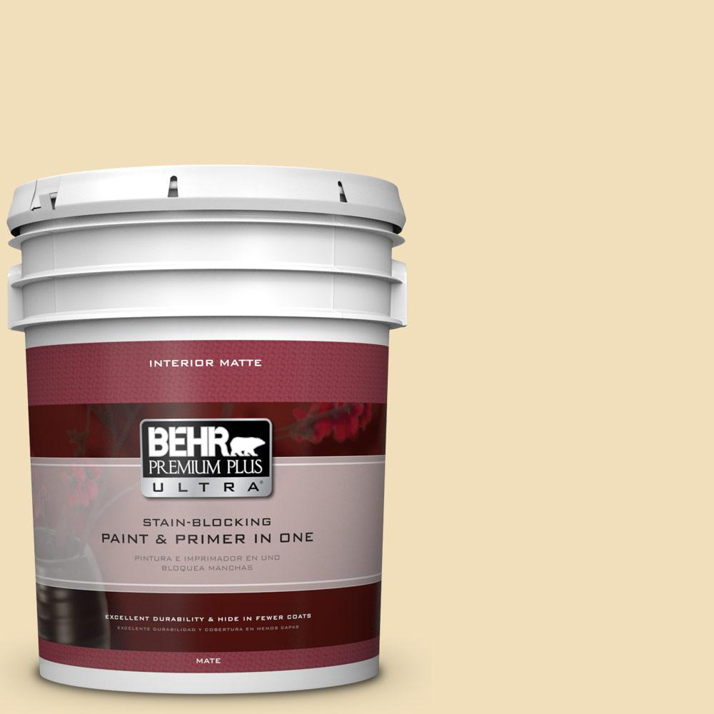 5 gal. #M320-3 Brushstroke Matte Interior Paint