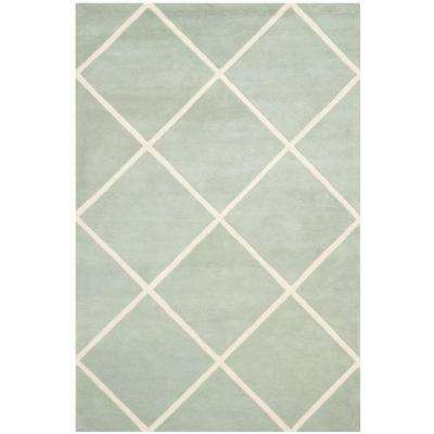 Chatham Grey/Ivory 6 ft. x 9 ft. Area Rug