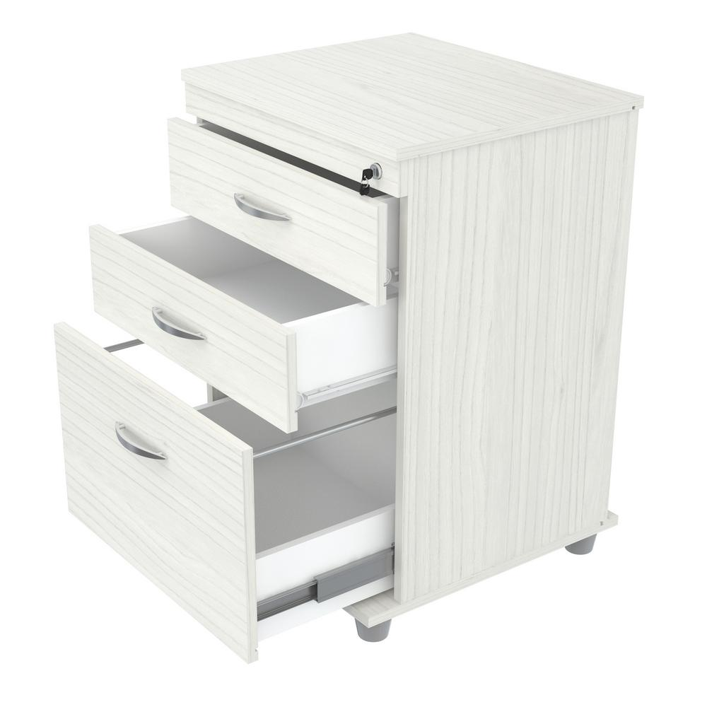 inval laricina white filing cabinet ar 3x1rb the home depot. Black Bedroom Furniture Sets. Home Design Ideas