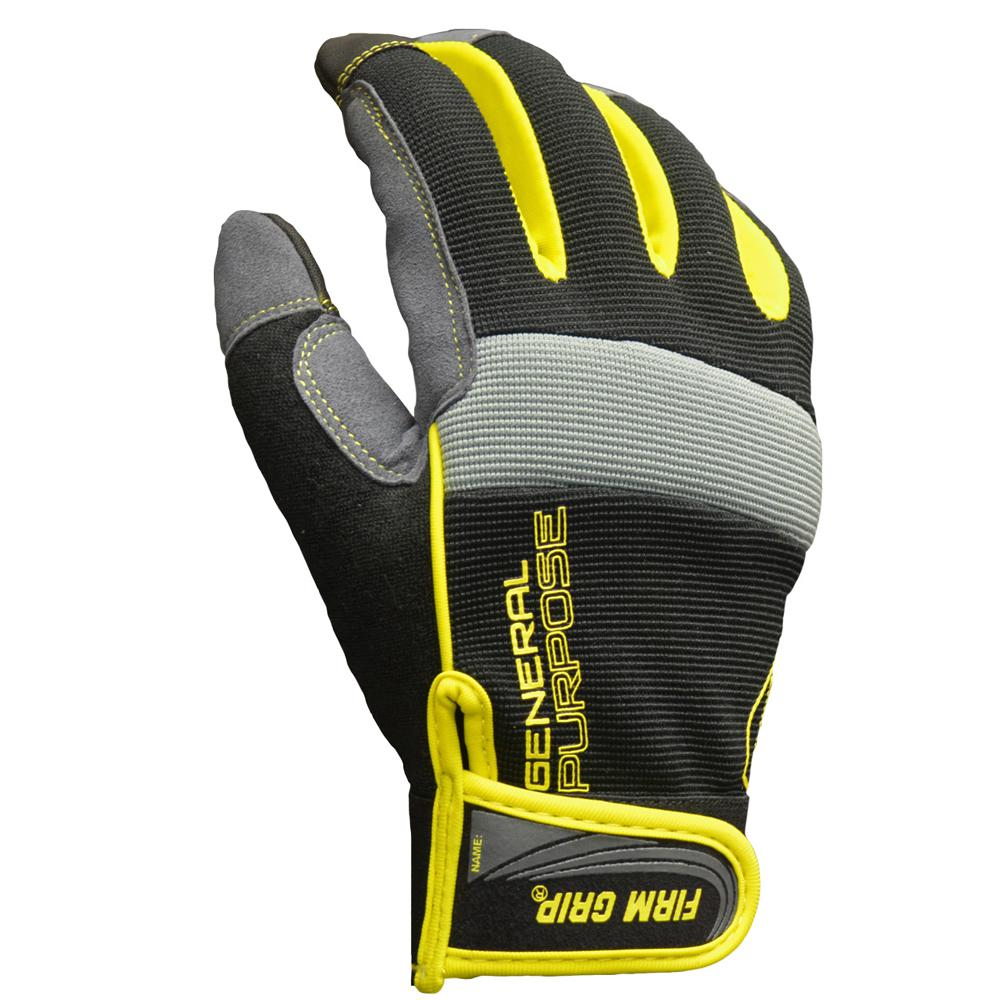 Firm Grip Large General Purpose Gloves