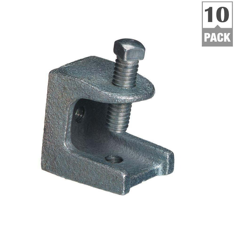 2 in. Malleable Iron Beam Clamp (10-Pack)