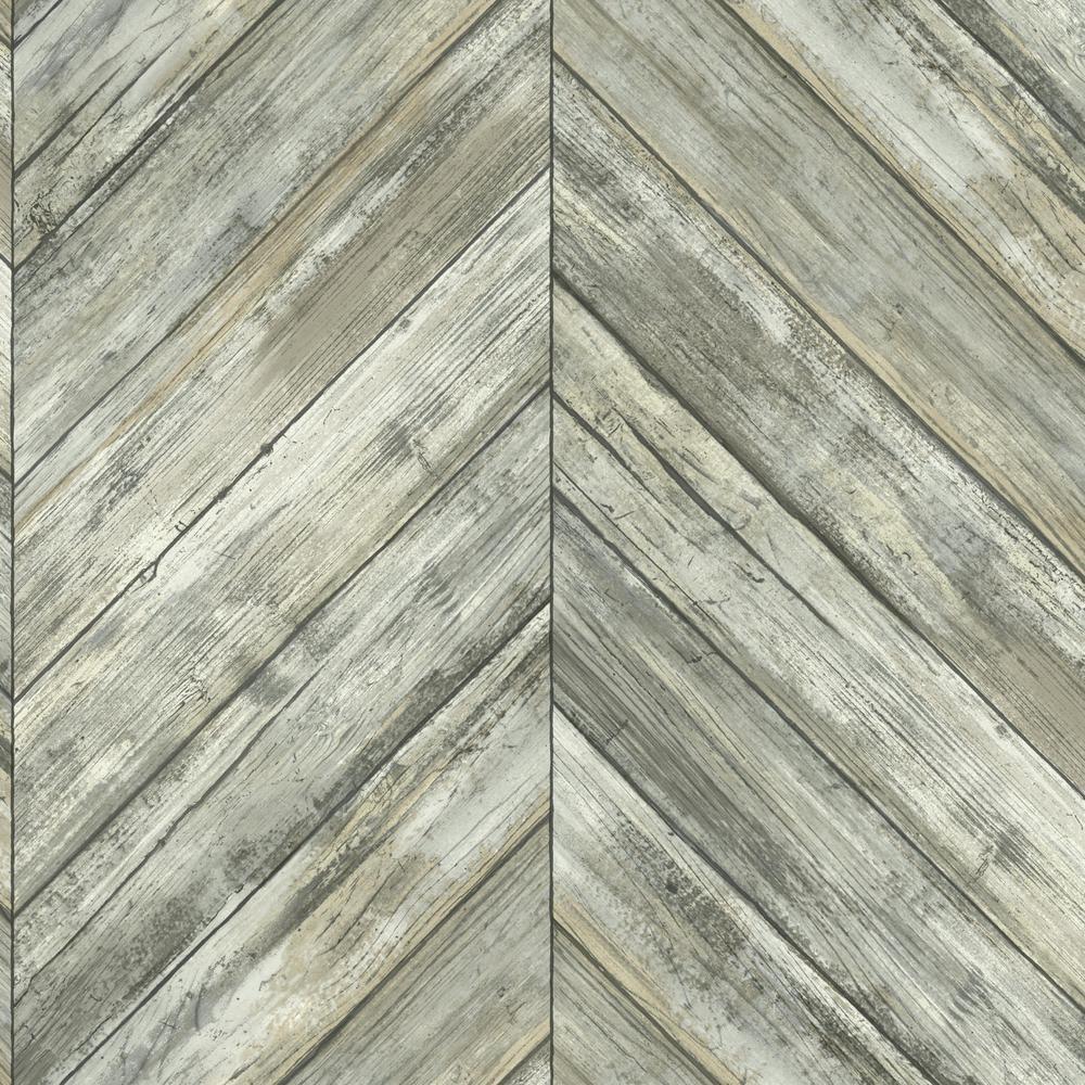 York Wallcoverings Herringbone Wood Boards Wallpaper CM3340