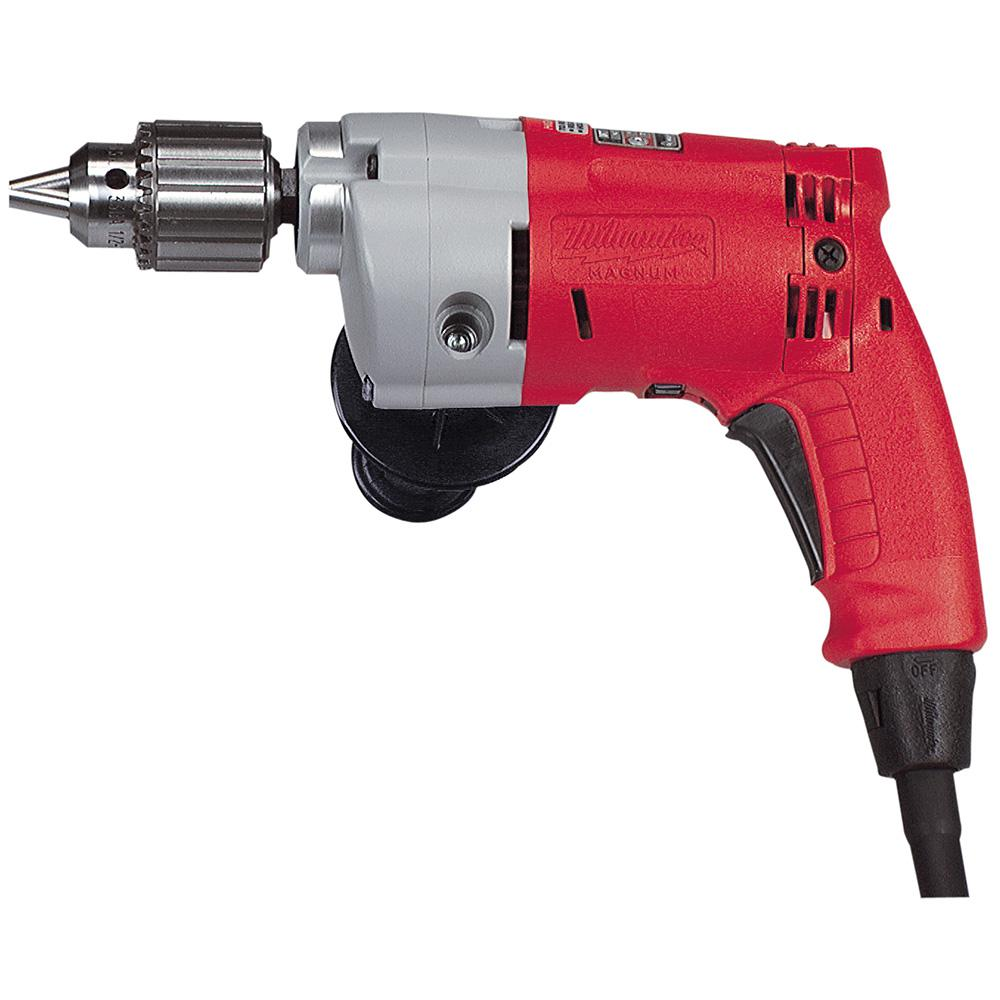 5.5 Amp Corded 1/2 in. Variable Speed Hole Shooter Magnum Drill