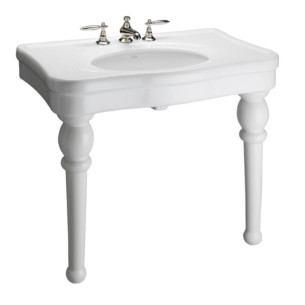 Versailles 42 in. Console Table in White