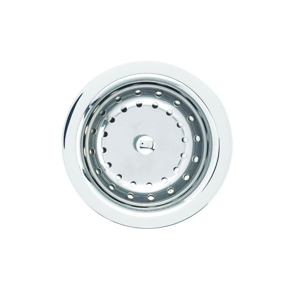 Attrayant Blanco 4 1/2 In. Sink Strainer In Chrome