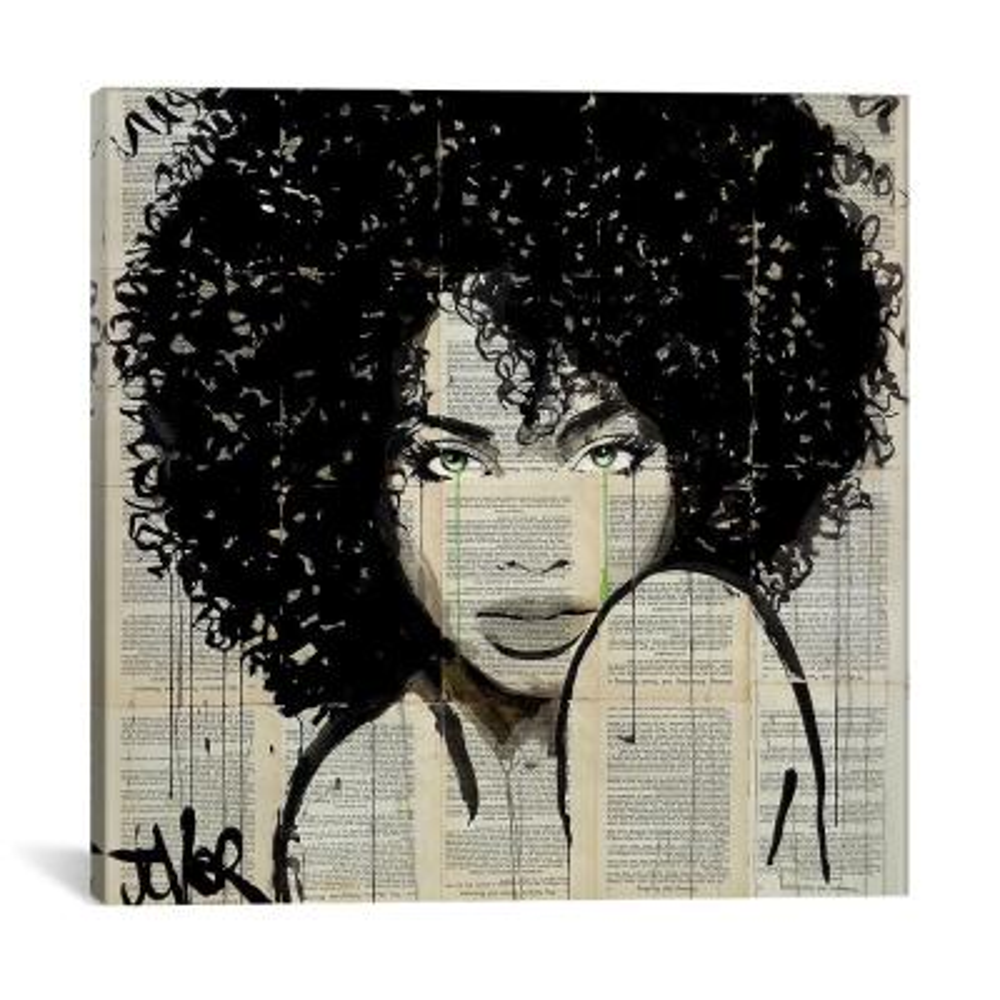 """Angel"" by Loui Jover Canvas Wall Art"