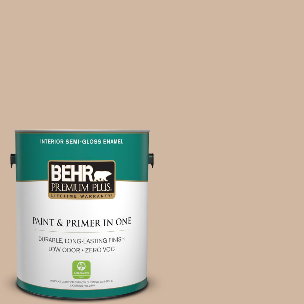 1-gal. #N240-3 Sonoran Desert Semi-Gloss Enamel Interior Paint