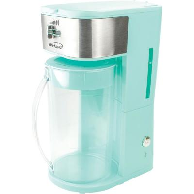8-Cup Blue Iced Tea and Coffee Maker