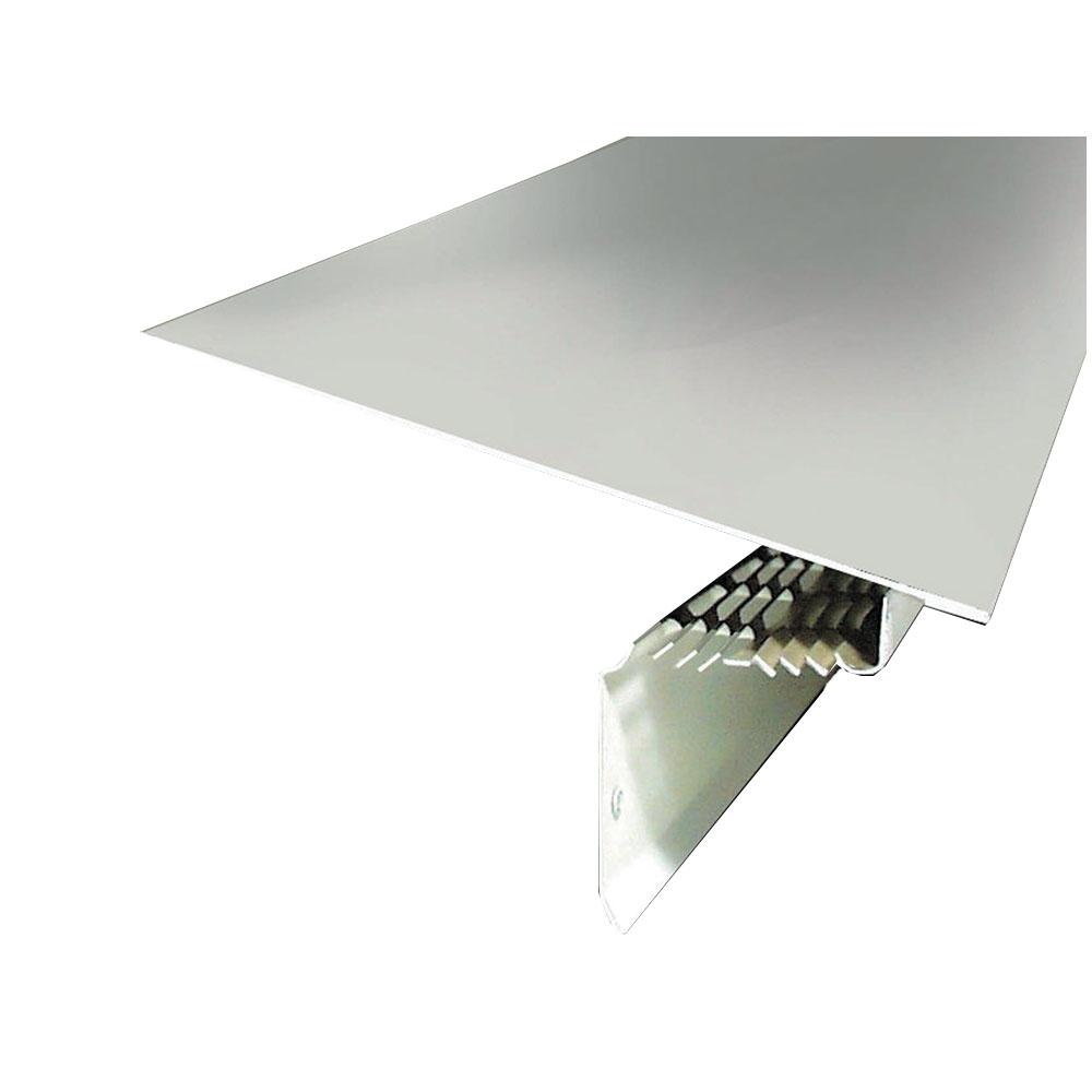 9-3/8 in. x 10 ft. Aluminum Drip Edge Vent