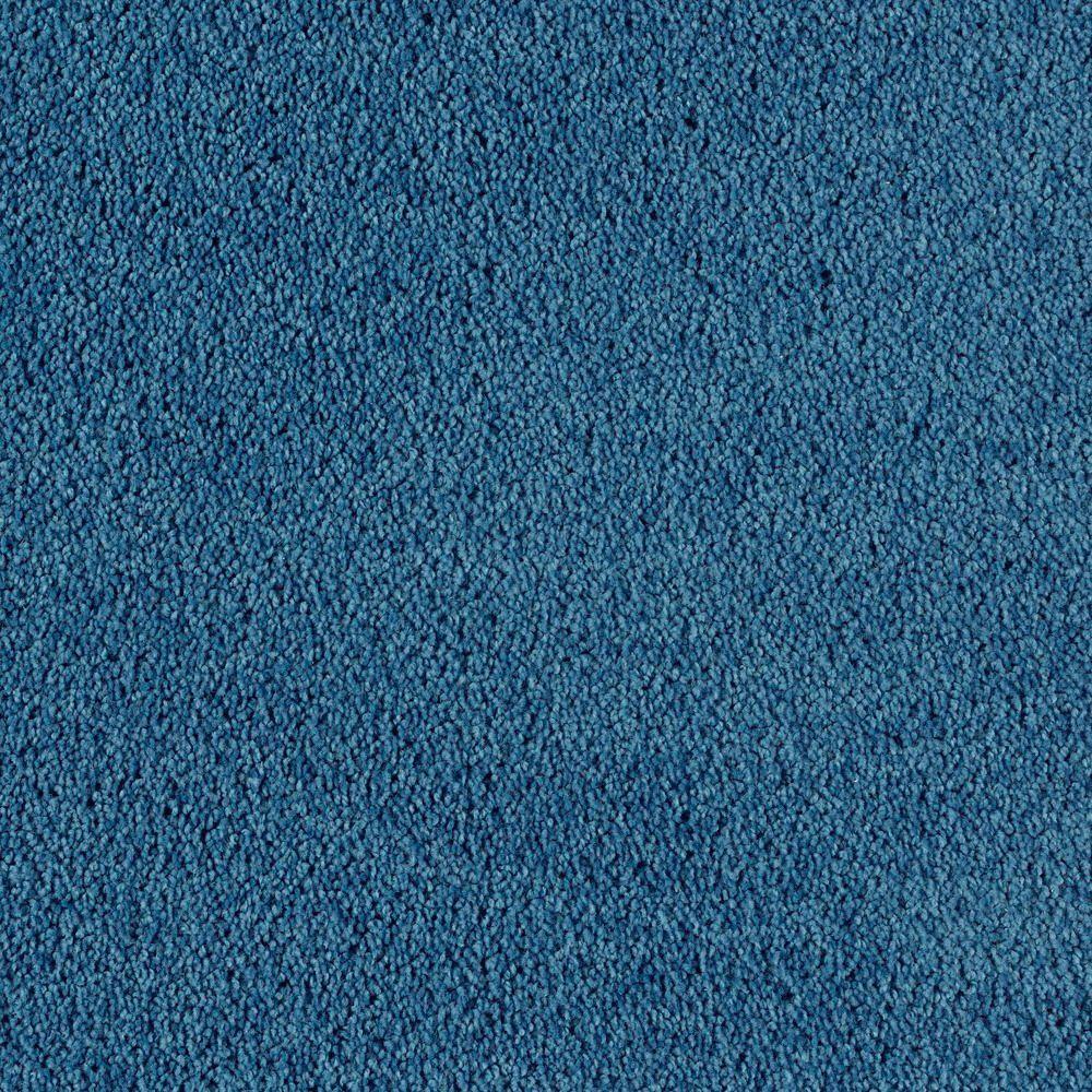Bel Ridge - Color Regatta Texture 15 ft. Carpet