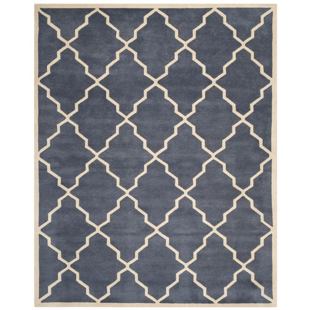 Chatham Grey 6 ft. x 9 ft. Area Rug