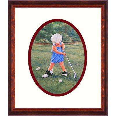 21.in x 27.in''Daddy's Caddy'' By PTM Images Framed Printed Wall Art